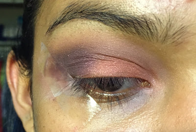 Dusky Pink & Purple Eyeshadow Tutorial