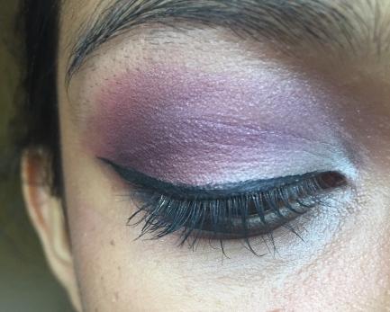 Purple & Silver Eyeshadow Makeup Tutorial