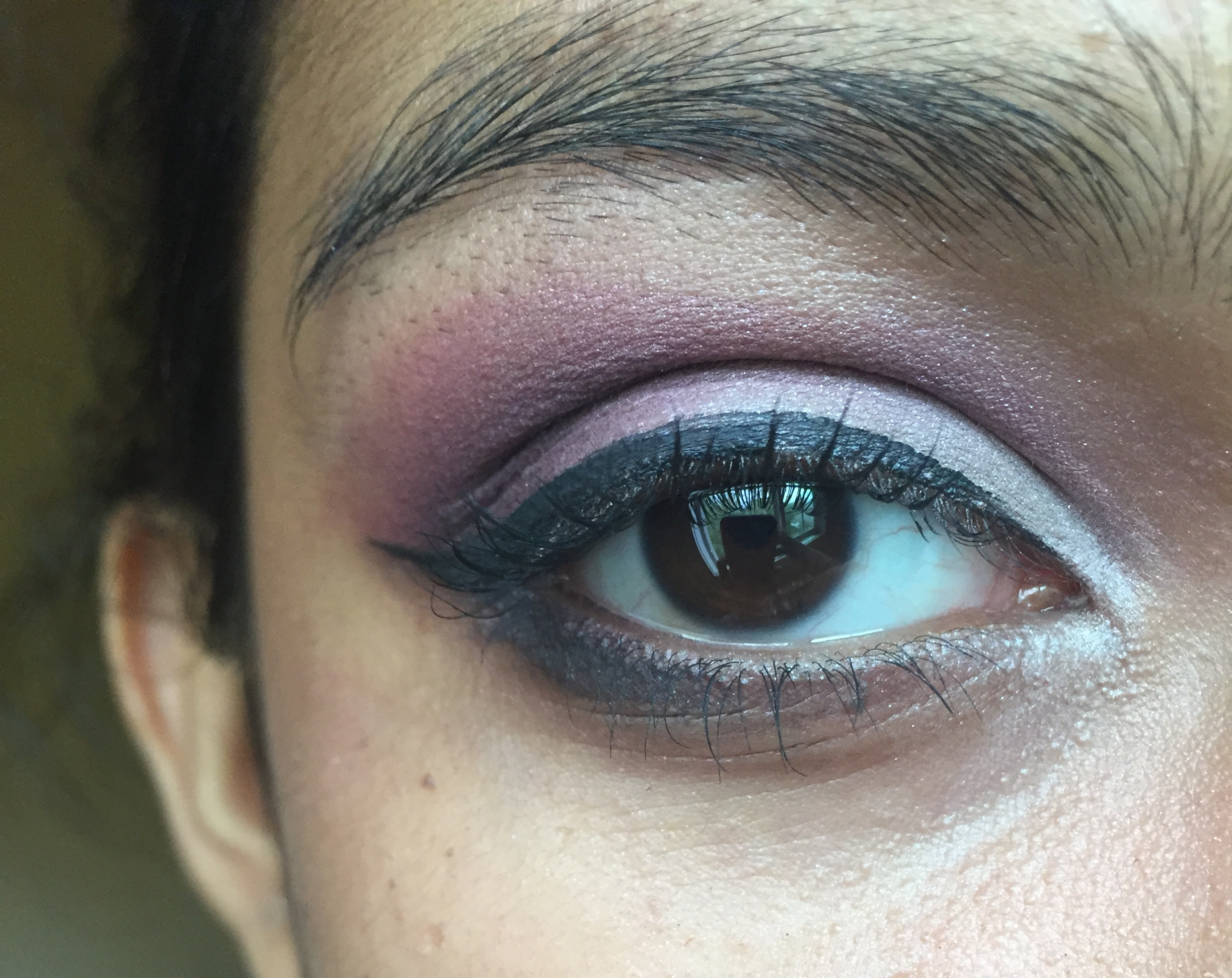 Purple silver eyeshadow makeup tutorial east west musings purple silver eyeshadow makeup tutorial purple silver eyeshadow makeup tutorial baditri Image collections