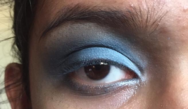 Smokey Blue/Turquoise Eyeshadow Tutorial!