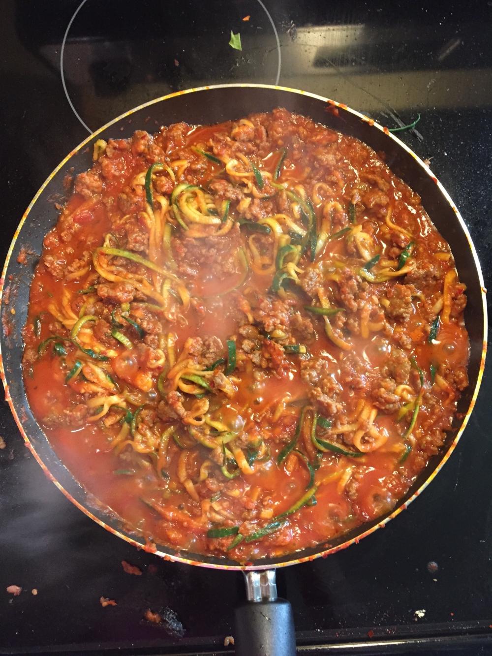 Pork & Zucchini Stew