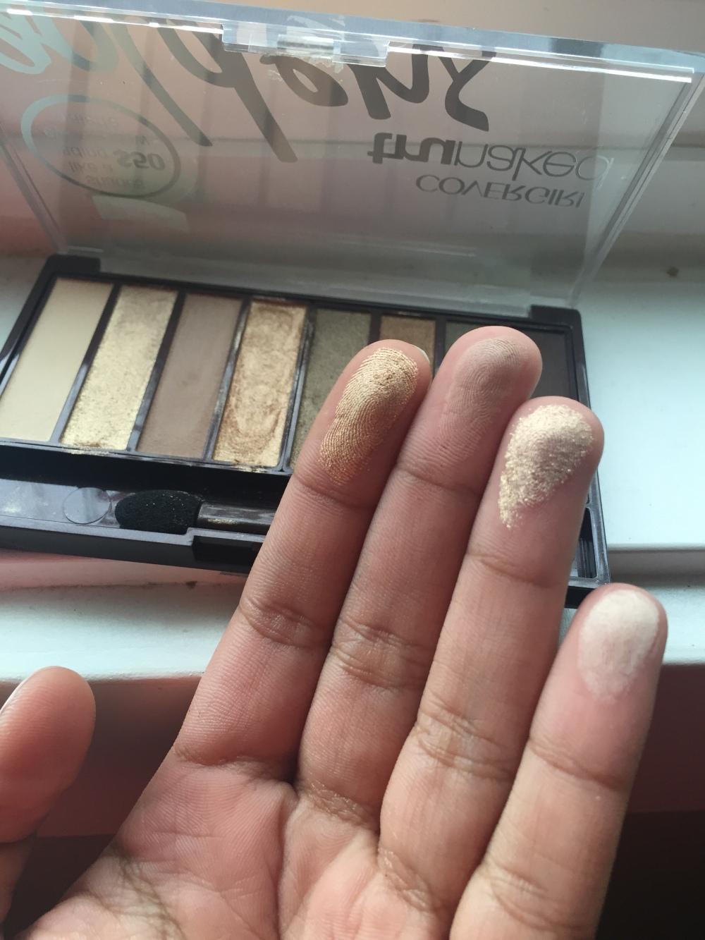 Cover Girl TruNaked Goldens Palette