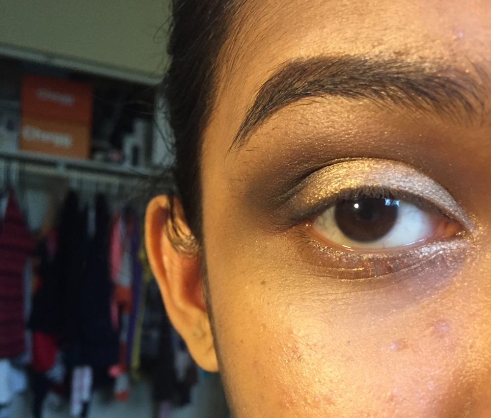 Tutorial w/ CoverGirl TruNaked Goldens Palette