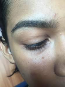 pink matte makeup look